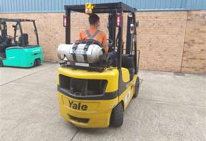 5 x Yale GDP20 Gas Forklifts For Sale or Competitive Hire
