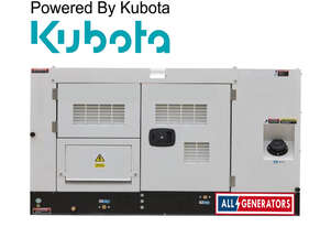 16.5 KVA Kubota Powered Single Phase Diesel Generator