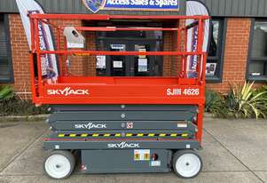 NEW SKYJACK  SJIII 4626 ELECTRIC SCISSOR LIFT
