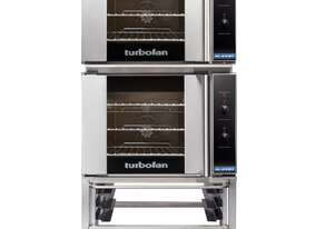 Turbofan E30M3/2 - Double Stacked - GN 1/1 Manual / Electric Convection Ovens Double Stacked on a St