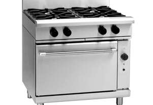 Waldorf 800 Series RNL8910GC - 900mm Gas Range Convection Oven Low Back Version