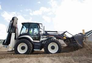 9.5T Hidromek HMK 102B Supra Backhoe Loader for hire