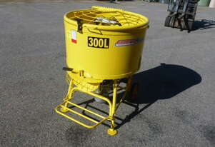 NEW BMAC TOOLS ELECTRIC 300LITRE CONCRETE BATCH MIXER