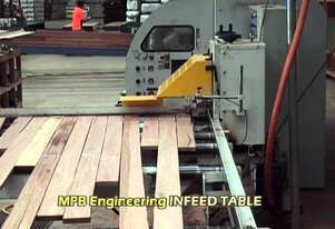 MPB Engineering MOULDER INFEED TABLE