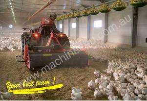 Litter rejuvenator for Chickens