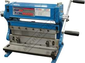 CM-300 3-in-1 Pressbrake, Guillotine & Rolls 300 x 1mm Mild Steel Capacity - picture0' - Click to enlarge