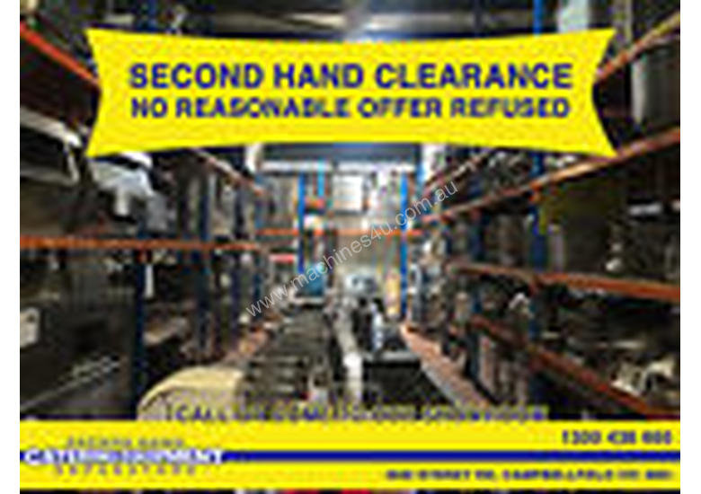 Cooking Equipment clearance Sale