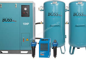 BOSS 48CFM SILENT COMPRESSOR CLEAN AIR PACKAGE