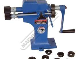 SJ-1 Swage and Jenny - Manual  1mm Mild Steel Thickness Capacity Includes 4 Sets Of Rolls - picture0' - Click to enlarge