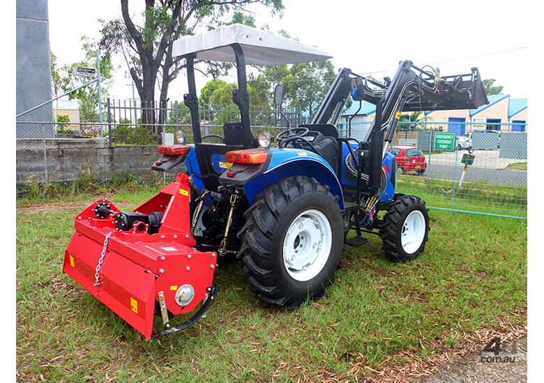 1.8m Heavy Duty Rotary Cultivator - 50HP Gearbox