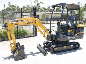 New Yuchai YC18-8 1.8ton Mini Excavator - picture7' - Click to enlarge