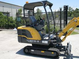 New Yuchai YC18-8 1.8ton Mini Excavator - picture8' - Click to enlarge