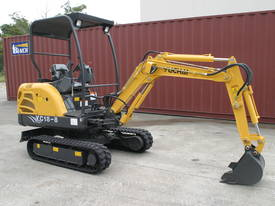 New Yuchai YC18-8 1.8ton Mini Excavator - picture13' - Click to enlarge