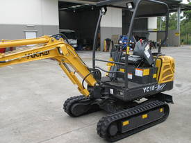 New Yuchai YC18-8 1.8ton Mini Excavator - picture3' - Click to enlarge