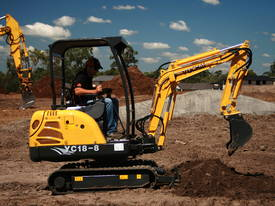 New Yuchai YC18-8 1.8ton Mini Excavator - picture15' - Click to enlarge