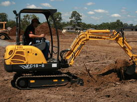 New Yuchai YC18-8 1.8ton Mini Excavator - picture16' - Click to enlarge