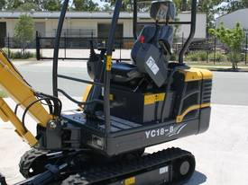 New Yuchai YC18-8 1.8ton Mini Excavator - picture14' - Click to enlarge