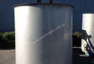 5300Lt stainless tank