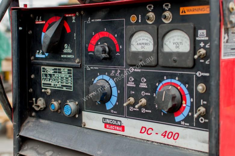 Lincoln DC-400 with Lincoln LN-9 Wire Feeder