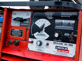 Lincoln DC-400 with Lincoln LN-9 Wire Feeder - picture4' - Click to enlarge