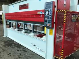 LARGE 150T SINGLE DAYLIGHT HOT PRESS 3800 X 1300MM IDEAL FOR BENCHTOPS *IN STOCK* - picture6' - Click to enlarge