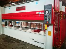 LARGE 150T SINGLE DAYLIGHT HOT PRESS 3800 X 1300MM IDEAL FOR BENCHTOPS *IN STOCK* - picture0' - Click to enlarge