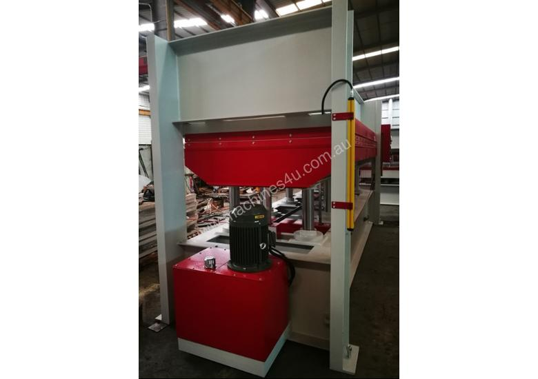 LARGE 150T SINGLE DAYLIGHT HOT PRESS 3800 X 1300MM IDEAL FOR BENCHTOPS *IN STOCK*