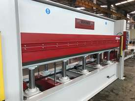 LARGE 150T SINGLE DAYLIGHT HOT PRESS 3800 X 1300MM IDEAL FOR BENCHTOPS *IN STOCK* - picture15' - Click to enlarge