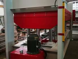 LARGE SINGLE DAYLIGHT HOT PRESS 3800 X 1300MM X 150T IDEAL FOR BENCHTOPS *ON SALE* - picture14' - Click to enlarge