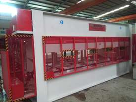 RHINO LARGE 150T SINGLE DAYLIGHT HYDRAULIC HOT PRESS 3800 X 1300MM PLATEN *SECURE TODAY* - picture2' - Click to enlarge