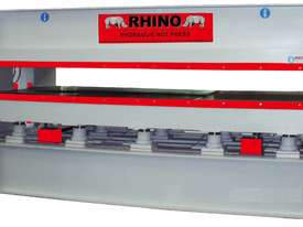 RHINO LARGE 150T SINGLE DAYLIGHT HYDRAULIC HOT PRESS 3800 X 1300MM PLATEN *SECURE TODAY* - picture0' - Click to enlarge