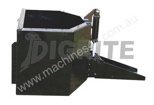 NEW HIGH QUALITY SKID STEER CONCRETE UNLOADING BUCKET