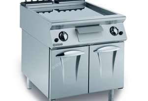 Mareno ANFT9-8GTL Fry-Top With Thermostat-Controlled Smooth Fry Plate