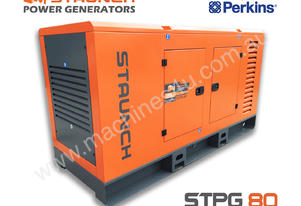 PERKINS POWERED GENERATOR 80Kva