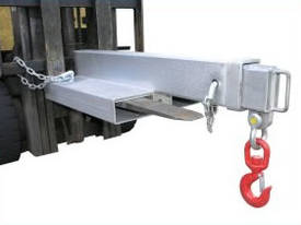 Fixed Jib Short Jib Attachment with 4500Kg SWL - picture0' - Click to enlarge