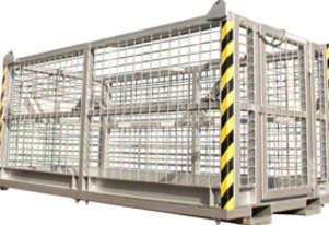 Crane Work Platform Cages 6 Man (No Roof)