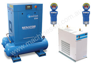 87CFM Electric Screw Air Compressor 15HP 415V PP