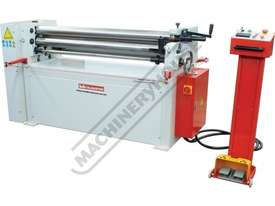 PR-133A Motorised Plate Curving Rolls 1300 x 2.5mm Mild Steel Capacity Motorised Up/Down Rear Roll,  - picture2' - Click to enlarge
