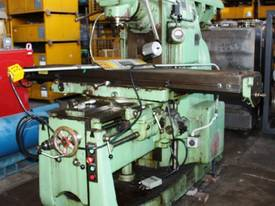 Combination Type FWA 41 Milling Machine Ex Tafe - picture0' - Click to enlarge