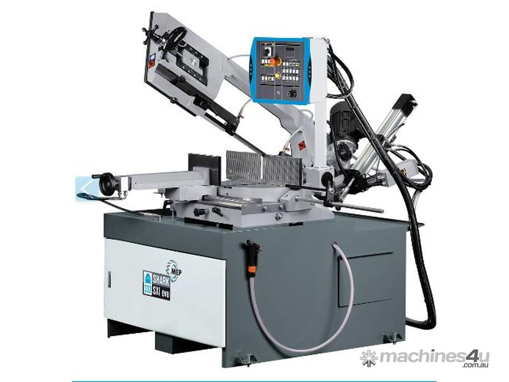 New 2018 Mep Shark 332 Sxi Semi Automatic Bandsaw In Mona