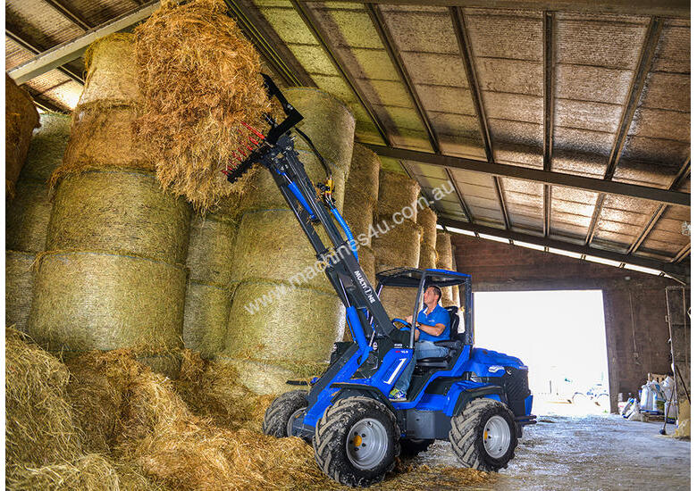 MULTIONE 10.8 MINI WHEEL LOADER WITH HIGH FLOW