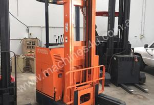 Toyota 5FBR15 Stand-on Reach Truck