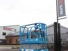 2015 Genie GS1932 Narrow Electric Scissor Lift - picture2' - Click to enlarge