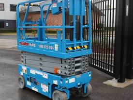 2015 Genie GS1932 Narrow Electric Scissor Lift - picture4' - Click to enlarge