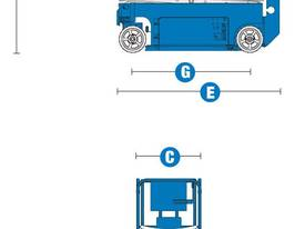 2015 Genie GS1932 Narrow Electric Scissor Lift - picture19' - Click to enlarge