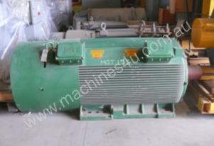 630 kw 840 hp 8 pole 3300 v AC Electric Motor