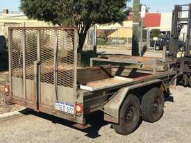 2T PLANT TRAILER HYDRAULIC BRAKES SUIT MINI LOADER 1TEO572 - picture4' - Click to enlarge