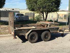 2T PLANT TRAILER HYDRAULIC BRAKES SUIT MINI LOADER 1TEO572 - picture5' - Click to enlarge