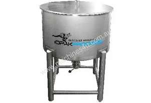 NEW 250L Holding Tank (conical bottom, lid & 2