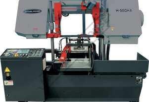 H-550HA-NC NC Double Column Metal Cutting Band Saw - Automatic Hitch Feed  550 x 550mm (W x H) Recta